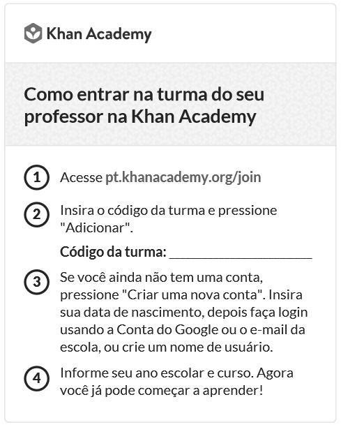 Khan Academy registry